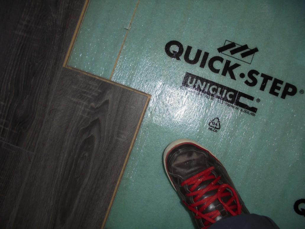 Parquet quick step et rev tement de sol carrelage entreprise - Feutre parquet flottant ...