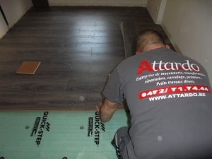 Parquet quick step entrepreneur rénovation